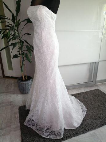 Suknia sesja  ślubna