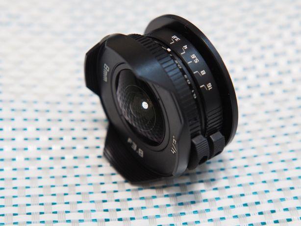 Объектив Fish-eye 8mm f3.8 Micro 4/3 для для Panasonic Olympus