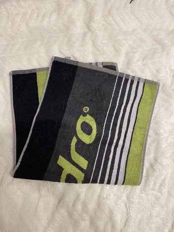 Czarno-szaro-zielony ręcznik Andro