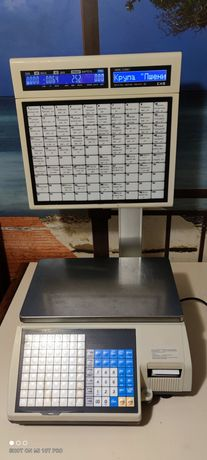 Продам весы с чекопечатью CAS sl5000j в идеальном состоянии.ТОРГ