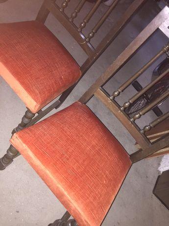 Cadeiras anos 80 duas unidades