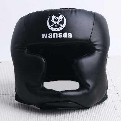 Надійний боксерський шолом Wansda (боксерский шлем) L XL
