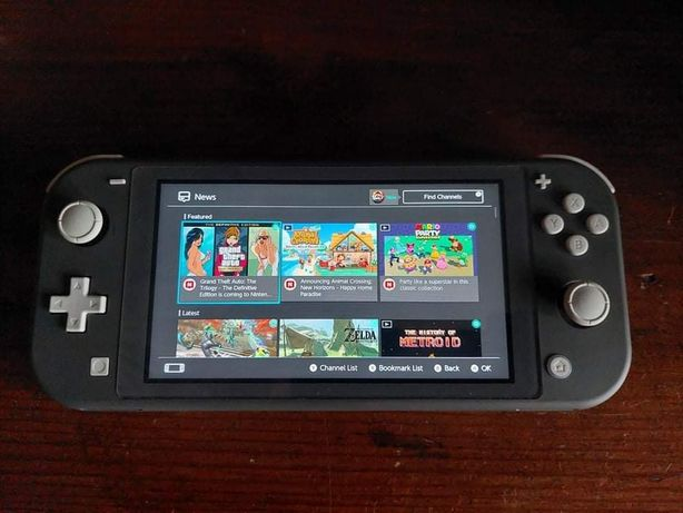 Nintendo Switch Lite 22msc gwarancji