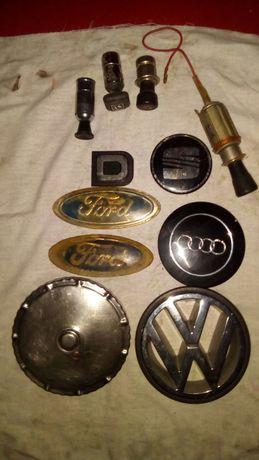 Ótica, Emblemas e outras peças