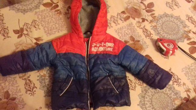 Куртка для хлопчика димесезон