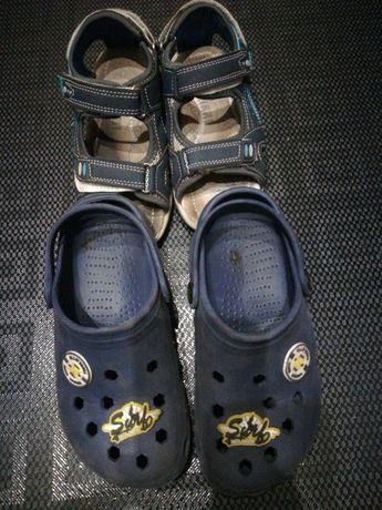 Buty Crocsy i sandały 2 pary w cenie 15zł