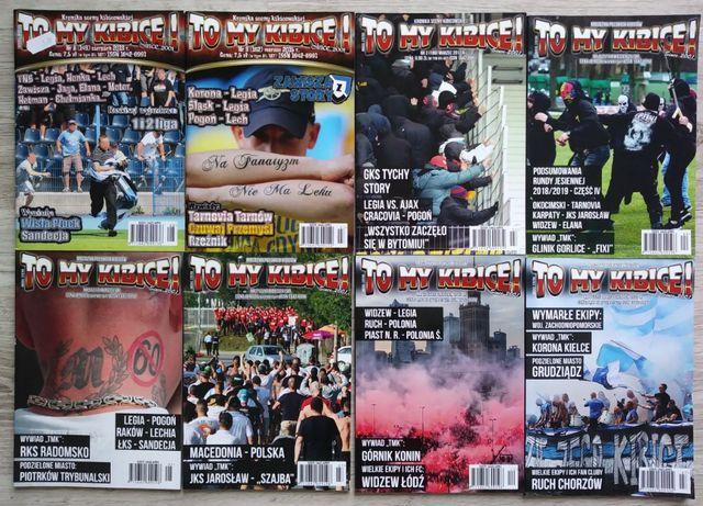 To My Kibice - czasopismo kibiców piłkarskich - 8 szt.