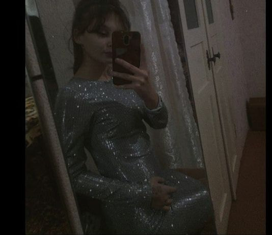платье. размер с-м. совсем новое.