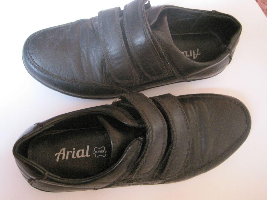 Туфли кожаные на мальчика р.35 Мелитополь - изображение 1