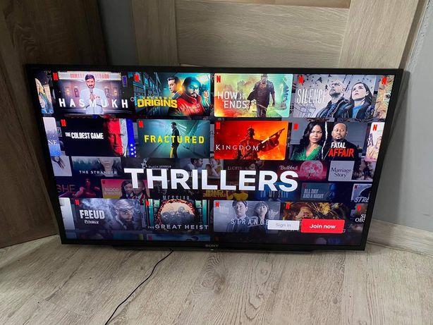 Smart led tv Sony Bravia 40 cali full HD Netflix YouTube
