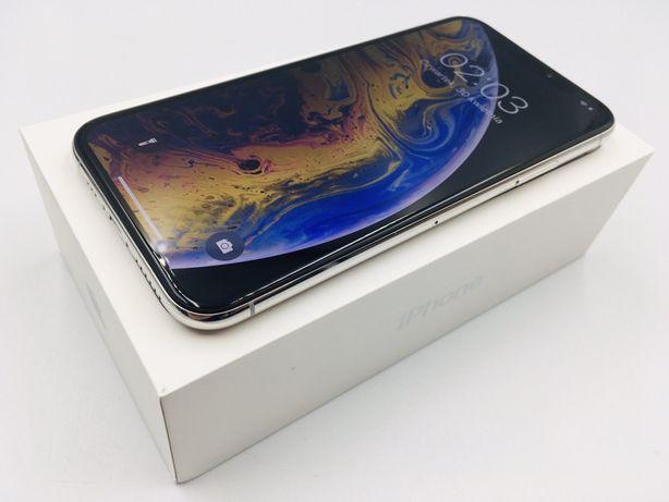 PROMOCJA • iPhone XS 64GB Silver • GWARANCJA 1 MSC • AppleCentrum