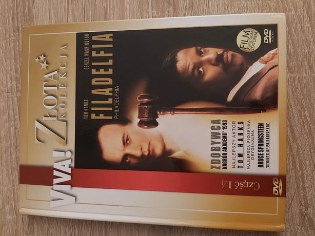 Filadelfia- T. Hanks,D. Washington Polski Lektor Film Dvd Unikat
