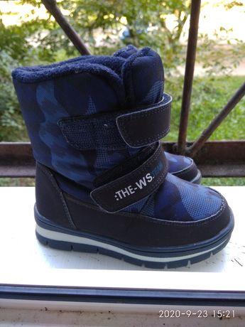 Чобітки зимові осінні кросівки туфлі для хлопчика