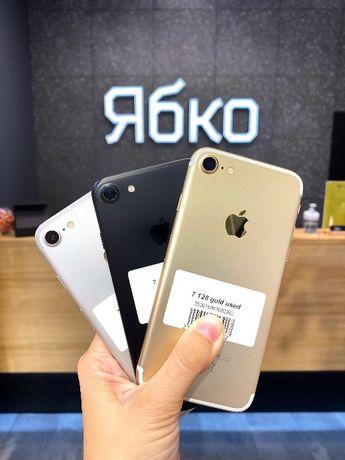 IPhone 7 32/128 gb б/у КРЕДИТ 0% купуй у Ябко Одеса