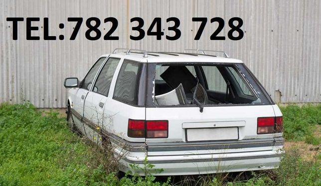 ZŁOMOWANIE pojazdów aut skup kasacja OLEŚNICA Bierutów Syców Borowa