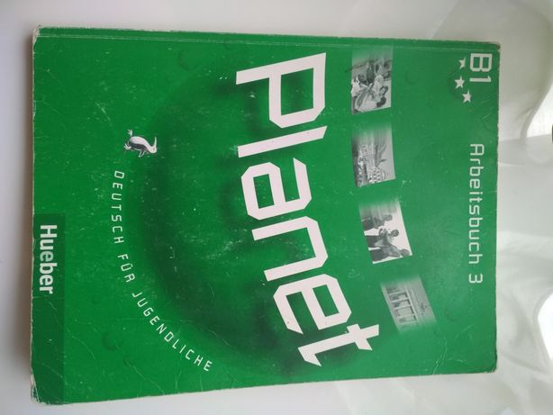 Німецька мова Planet B1 Arbeitsbuch