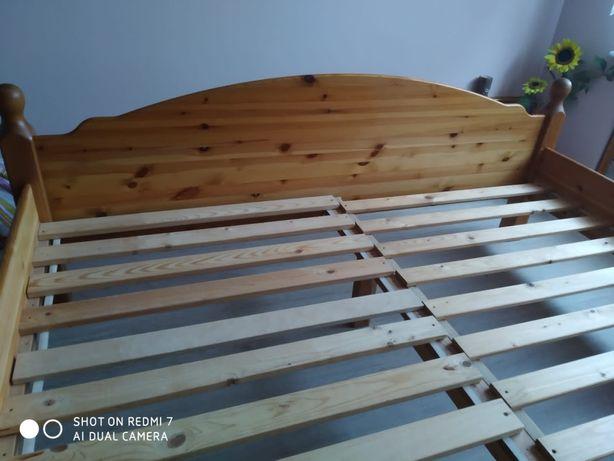 Łóżko drewniane 180x200