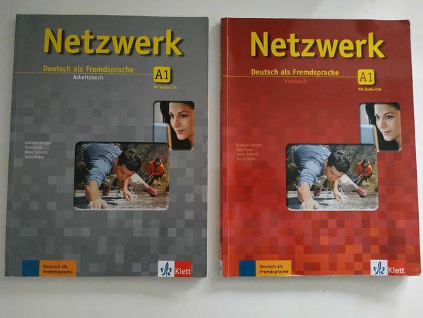 Netzwerk Deutsch als Fremdsprache A1  Podręcznik i ćwiczenia z płytami