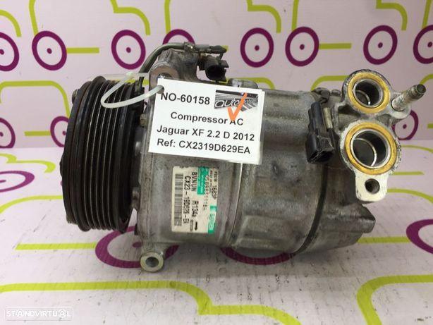 Compressor AC Jaguar XF 2.2 D 200Cv de 2012 - Ref: CX2319D629EA - NO60158
