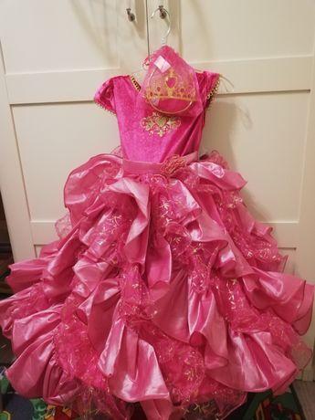 Sukienka księżniczki, bal karnawałowy