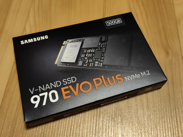 SSD Samsung 970 Evo PLUS 500GB M.2 PCIe 3.0 x4 / Не 970 Evo!!! / Новый