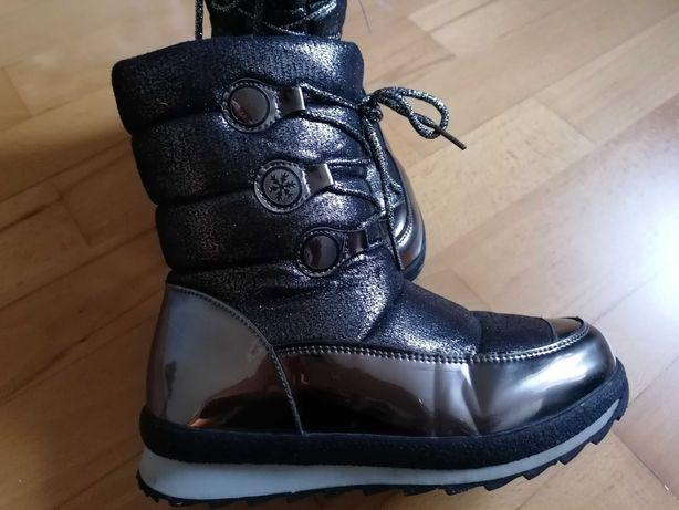 Buty śniegowce dziewczęce rozm. 33