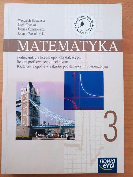 Matematyka 3, liceum i technikum, Nowa Era z płytą CD, wydanie 4