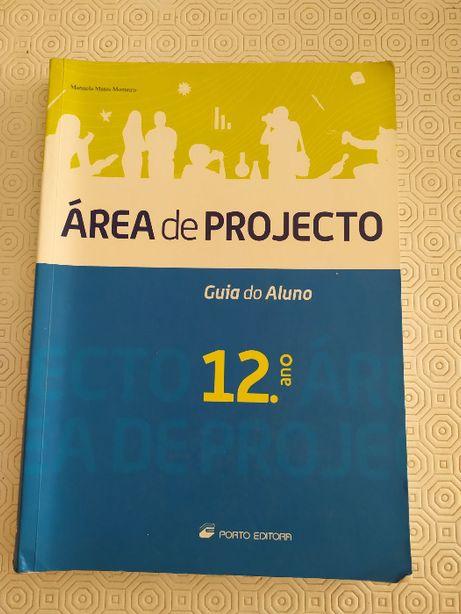 Livro Área de projecto 12°ano - Manuela Matos Monteiro