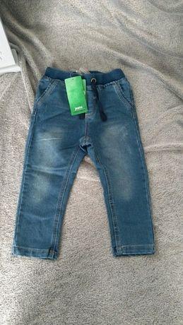 Spodnie jeansowe nowe Cocodrilo r.92