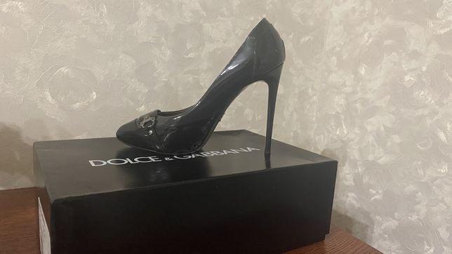 Туфли на высоком каблуке DOLCE&GABANA, Италия, оригинал