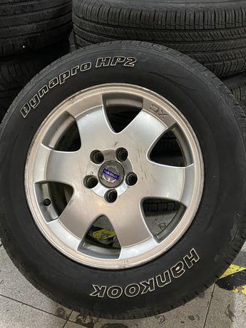 Jantes e pneus volvo xc70 como novos 16 5x108