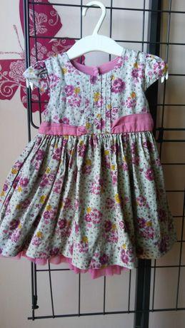 Sukienka w kwiatki 80