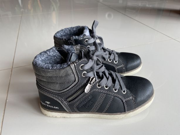 Ботинки осень Tom Tailor, geox, ecco 34 р.