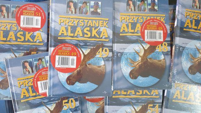 Przystanek Alaska: książki i płyty DVD z odcinkami serialu