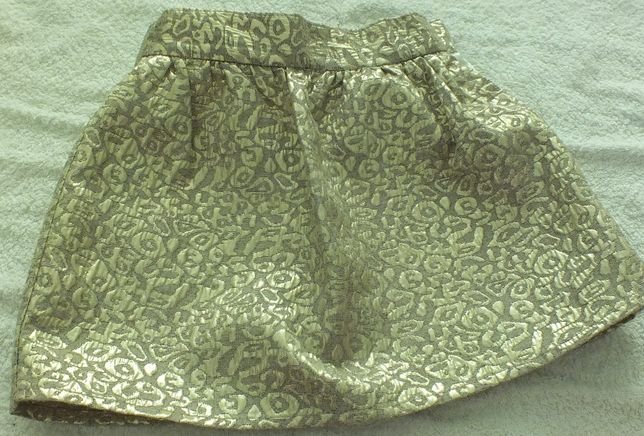 złota spódnica 104