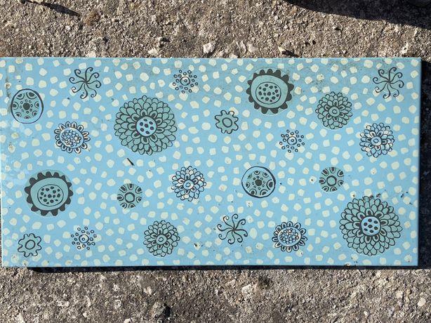 Azulejos mosaicos azuis