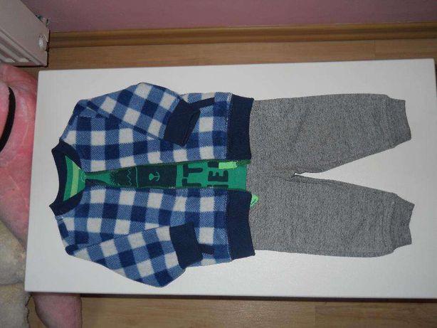 Bluza polarowa+spodnie dresowe+koszulka Cool Club, 68