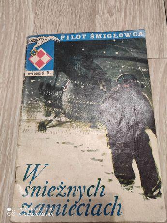 Komiks Pilot Śmigłowca - W Śnieżnych Zamieciach - Nr 4