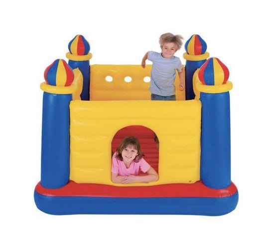Детский Надувной батут/ Игровой центр Замок 48259Іntex 175*175*135см