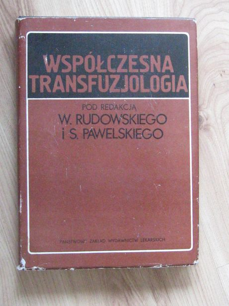 Современная трансфузиология Współczesna transfuzjologia