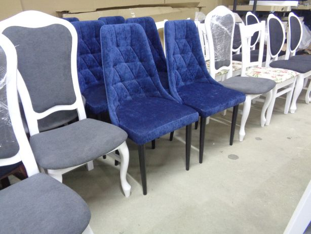 Krzesło KENZO Tapicerowane Super Cena Wyprzedaż ekspozycji OKAZJA