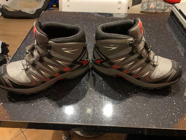 buty Salomon trekingowe zimowe rozmiar 38
