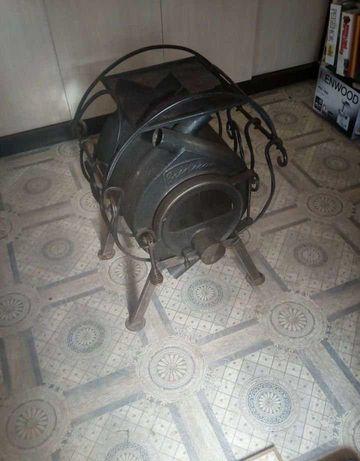 Буржуйка, топка отопительная печь Булерьян