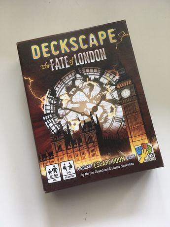 Jogo tabuleiro Deckscape: The Fate of London