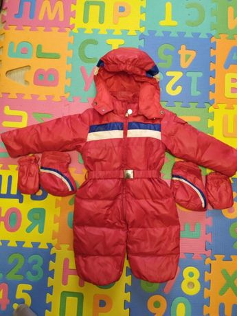 Детский зимний комбинезон Moncler до 86см.