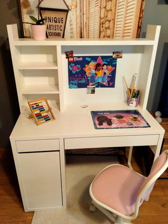 Zestaw mebli dla dziecka Łóżko z materacem, szafa, biurko