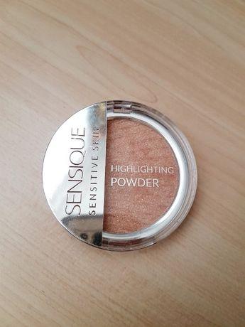 rozświetlacz Sensique highlighting powder puder rozświetlający złoty