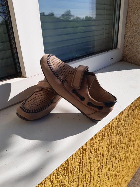 Туфельки для хлопчика нубук