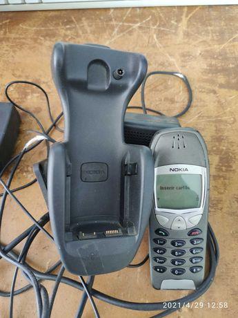 Nokia 6210 + kit mãos livres original Nokia
