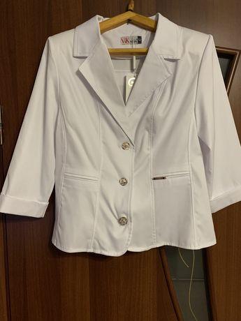 Піджак білий жіночий